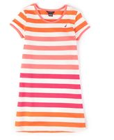 Nautica Little Girls' Striped T-Shirt Dress (2T-7)
