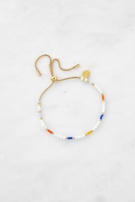 Estella Bartlett Miyuki Beads & Pearls Friendship Bracelet - Assorted ALL at Urban Outfitters