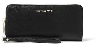 MICHAEL Michael Kors Jet Set Travel Continental Wallet Black
