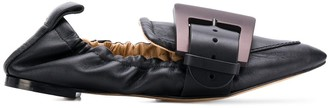 Chloé buckle detail ballerina shoes