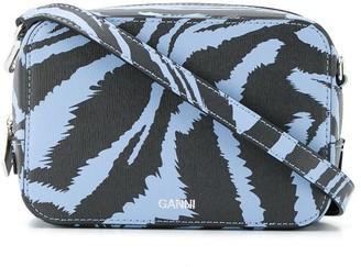 Ganni Zebra Print Cross Body Bag
