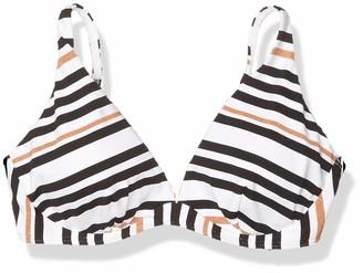Jets Women's Vista Stripe D-DD Underwire Bikini Top Swimsuit