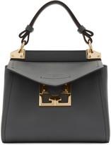 Givenchy Grey Mini Mystic Top Handle Bag