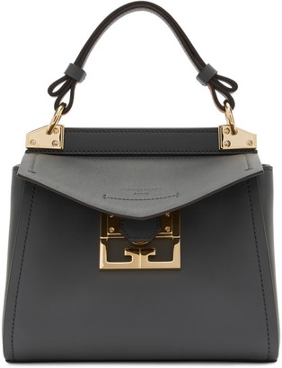 Givenchy Grey Mini Mystic Top Handle Bag