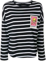 Each X Other embroidered striped T-shirt