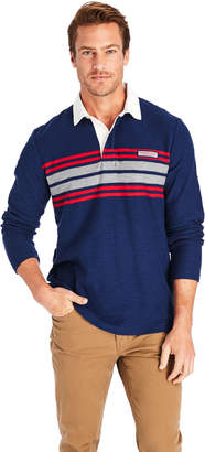 Vineyard Vines Placed Chest Stripe Rugby Shirt