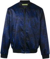 Versace Duchesse Techno Baroque print bomber jacket - men - Elastodiene/Polyamide/Polyester/Spandex/Elastane - 48