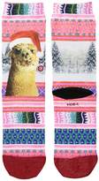 Stance Tinas Holiday Women's Crew Cut Socks Shoes