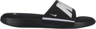 Nike Ultra Comfort 3 Slide Shoes - Black / White