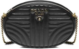 Prada Diagramme Oval Crossbody Bag