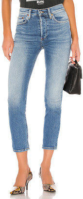 RE/DONE High Rise Ankle Crop. - size 28 (also