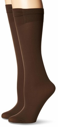 Hanes Women's Perfect Socks Opaque Trouser