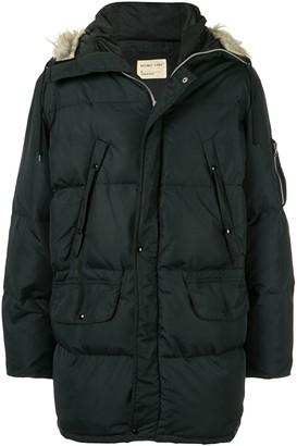 Helmut Lang Pre Owned 1998 Down Puffer Coat