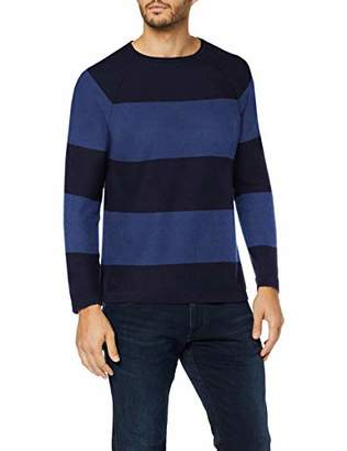 Benetton Men's Basico 1 Man Long Sleeve Top,Medium