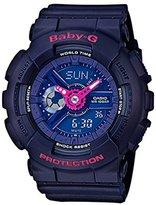 Casio Women's Baby G BA110PP-2A Rubber Quartz Sport Watch