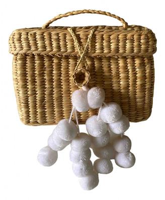 Nannacay Beige Wicker Handbags