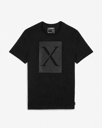 Express Blocked X Graphic T-Shirt