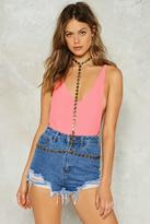 Nasty Gal Drop a Hint Body Chain