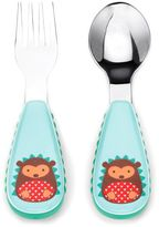 Bed Bath & Beyond SKIP*HOP® Zootensils Little Kid Fork & Spoon in Hedgehog