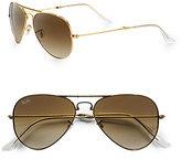 Metal Folding Aviator Sunglasses