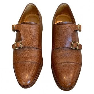 John Lobb Camel Leather Lace ups