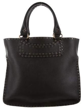 Celine Studded Leather Tote