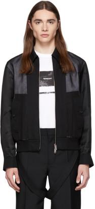 Burberry Black Double Layered Jacket
