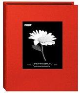 "Pioneer Bi-Directional Cloth Frame Photo Album, Random Designer Series Bright Cloth Covers, Holds 24 4x6"" Photos, 1 Per Page , Color: Assorted."