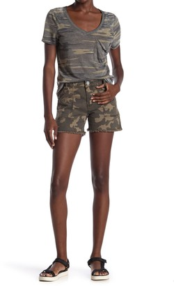 KUT from the Kloth Camo Utility Shorts