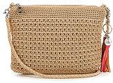 The Sak Shasta Tasseled Crochet Convertible Demi Cross-Body Bag