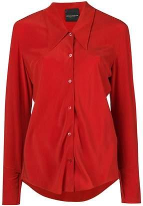Cavallini Erika buttoned silk shirt