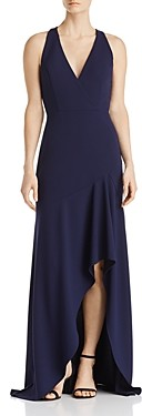 Avery G Scuba Crepe Gown