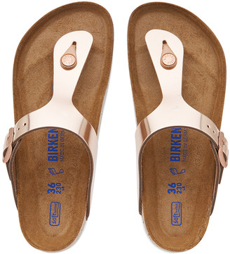 Birkenstock Gizeh Soft FootBed Leather Sandals