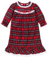 Little Me Girls Christmas Pajamas - Toddler Plaid Nightgown