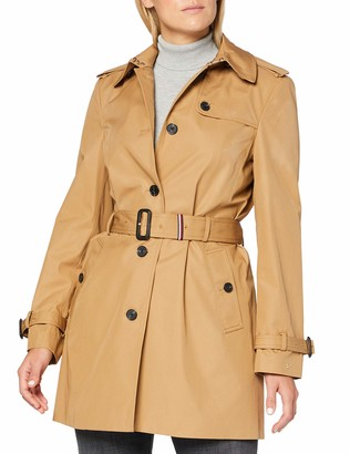 Tommy Hilfiger Women's Seasonal Single Breasted Trench Coat