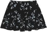 Bonpoint Cherry-print cotton skirt