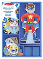 Melissa & Doug Magnetic Wooden Dress Up Doll - Billy