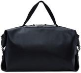 Saint Laurent Black Large Leather Id Convertible Bag