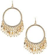 Anna & Ava Taylor Drop Hoop Earrings