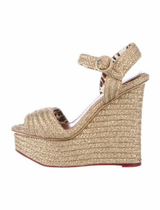 Charlotte Olympia Espadrilles Gold