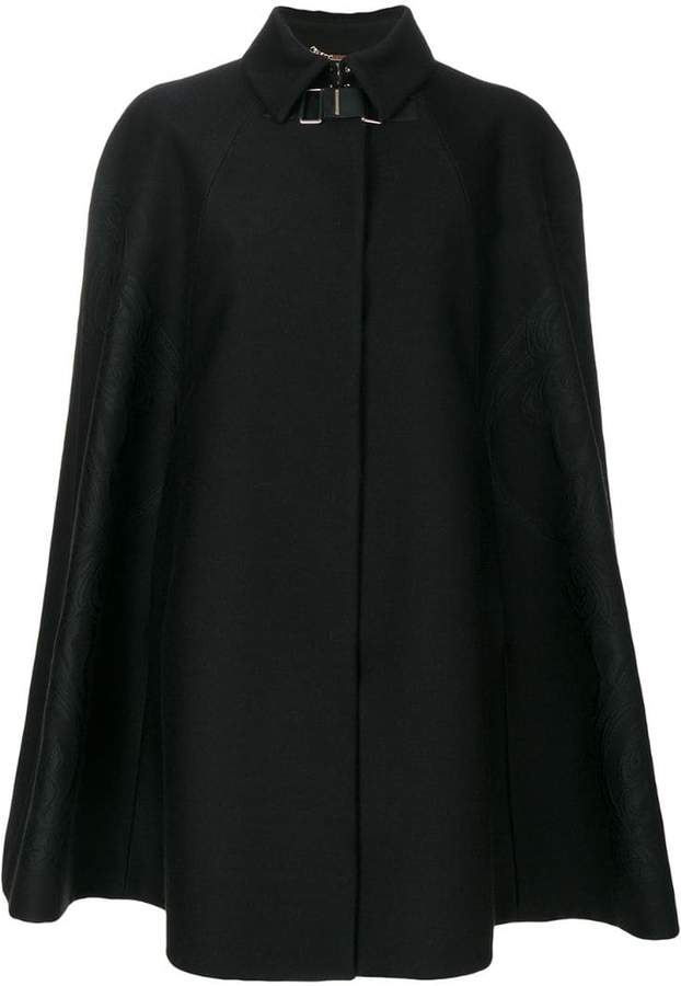 Versace Baroque embroidered cape