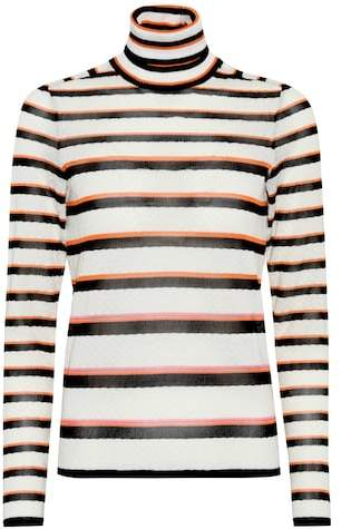 Missoni Striped turtleneck sweater