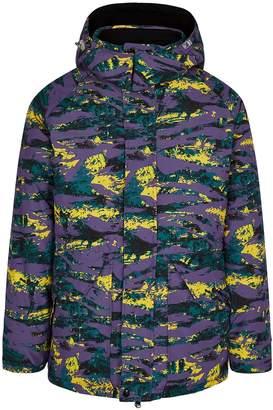 Billionaire Boys Club Printed Reversible Shell Coat