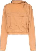 Reebok x Victoria Beckham x Victoria Beckham zip neck logo hoodie