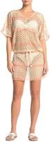 Pilyq Jasmine Fishnet Tunic Cover-Up