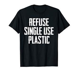 Refuse Single Use Say No To Plastic Ban Straws Suck T Shirt