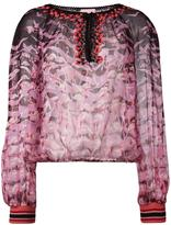 Giamba printed blouse - women - Silk/Cotton/Polyamide/Viscose - 42