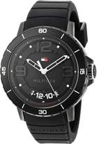 Tommy Hilfiger Men's Quartz Resin and Silicone Casual Watch, Color: (Model: 1791249)