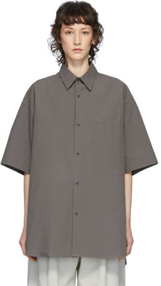 Studio Nicholson Grey Oversized Sorono Shirt