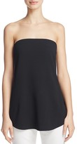 Theory Zalballa Strapless Top